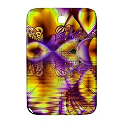 Golden Violet Crystal Palace, Abstract Cosmic Explosion Samsung Galaxy Note 8 0 N5100 Hardshell Case  by DianeClancy