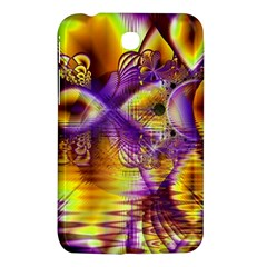 Golden Violet Crystal Palace, Abstract Cosmic Explosion Samsung Galaxy Tab 3 (7 ) P3200 Hardshell Case  by DianeClancy
