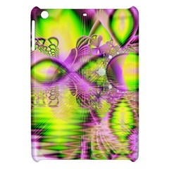 Raspberry Lime Mystical Magical Lake, Abstract  Apple Ipad Mini Hardshell Case by DianeClancy
