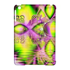 Raspberry Lime Mystical Magical Lake, Abstract  Apple Ipad Mini Hardshell Case (compatible With Smart Cover) by DianeClancy