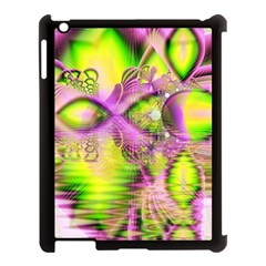 Raspberry Lime Mystical Magical Lake, Abstract  Apple Ipad 3/4 Case (black) by DianeClancy