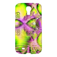 Raspberry Lime Mystical Magical Lake, Abstract  Samsung Galaxy S4 I9500/i9505 Hardshell Case by DianeClancy