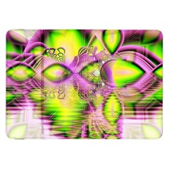 Raspberry Lime Mystical Magical Lake, Abstract  Samsung Galaxy Tab 8 9  P7300 Flip Case by DianeClancy