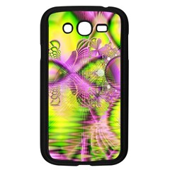 Raspberry Lime Mystical Magical Lake, Abstract  Samsung Galaxy Grand Duos I9082 Case (black) by DianeClancy