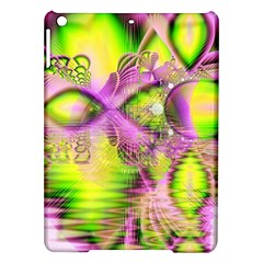 Raspberry Lime Mystical Magical Lake, Abstract  Apple Ipad Air Hardshell Case by DianeClancy