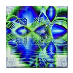 Irish Dream Under Abstract Cobalt Blue Skies Ceramic Tile by DianeClancy