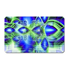 Irish Dream Under Abstract Cobalt Blue Skies Magnet (rectangular) by DianeClancy