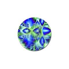 Irish Dream Under Abstract Cobalt Blue Skies Golf Ball Marker by DianeClancy
