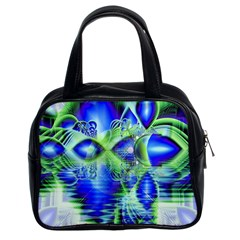 Irish Dream Under Abstract Cobalt Blue Skies Classic Handbag (two Sides) by DianeClancy