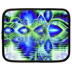 Irish Dream Under Abstract Cobalt Blue Skies Netbook Sleeve (xl) by DianeClancy