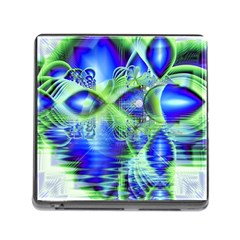 Irish Dream Under Abstract Cobalt Blue Skies Memory Card Reader With Storage (square) by DianeClancy