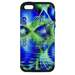 Irish Dream Under Abstract Cobalt Blue Skies Apple Iphone 5 Hardshell Case (pc+silicone) by DianeClancy