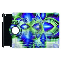 Irish Dream Under Abstract Cobalt Blue Skies Apple Ipad 2 Flip 360 Case by DianeClancy