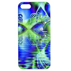 Irish Dream Under Abstract Cobalt Blue Skies Apple Iphone 5 Hardshell Case With Stand by DianeClancy