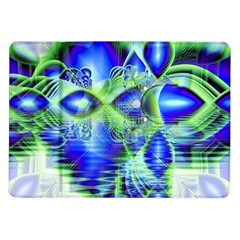 Irish Dream Under Abstract Cobalt Blue Skies Samsung Galaxy Tab 10 1  P7500 Flip Case by DianeClancy