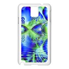 Irish Dream Under Abstract Cobalt Blue Skies Samsung Galaxy Note 3 N9005 Case (white) by DianeClancy