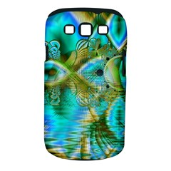 Crystal Gold Peacock, Abstract Mystical Lake Samsung Galaxy S Iii Classic Hardshell Case (pc+silicone) by DianeClancy