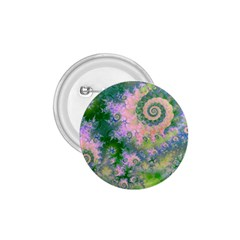 Rose Apple Green Dreams, Abstract Water Garden 1.75  Button by DianeClancy