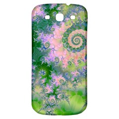Rose Apple Green Dreams, Abstract Water Garden Samsung Galaxy S3 S Iii Classic Hardshell Back Case by DianeClancy