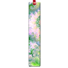 Rose Apple Green Dreams, Abstract Water Garden Large Bookmark by DianeClancy