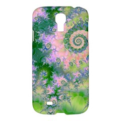 Rose Apple Green Dreams, Abstract Water Garden Samsung Galaxy S4 I9500/i9505 Hardshell Case by DianeClancy