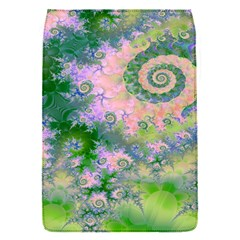 Rose Apple Green Dreams, Abstract Water Garden Removable Flap Cover (small) by DianeClancy