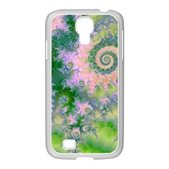Rose Apple Green Dreams, Abstract Water Garden Samsung Galaxy S4 I9500/ I9505 Case (white) by DianeClancy