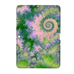 Rose Apple Green Dreams, Abstract Water Garden Samsung Galaxy Tab 2 (10 1 ) P5100 Hardshell Case  by DianeClancy