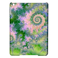 Rose Apple Green Dreams, Abstract Water Garden Apple Ipad Air Hardshell Case by DianeClancy