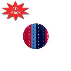 Giraffentapete 1  Mini Button Magnet (10 Pack) by Siebenhuehner
