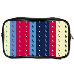 Giraffentapete Travel Toiletry Bag (one Side) by Siebenhuehner