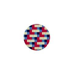 Hearts 1  Mini Button Magnet by Siebenhuehner
