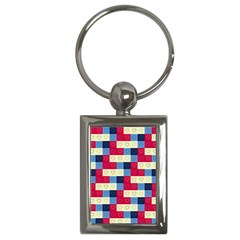 Hearts Key Chain (rectangle) by Siebenhuehner