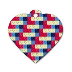 Hearts Dog Tag Heart (One Sided)  by Siebenhuehner