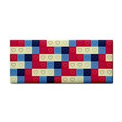 Hearts Hand Towel by Siebenhuehner