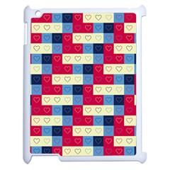 Hearts Apple Ipad 2 Case (white) by Siebenhuehner