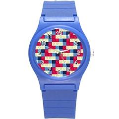 Hearts Plastic Sport Watch (small) by Siebenhuehner