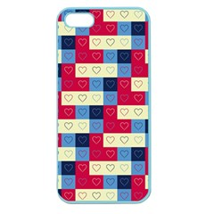 Hearts Apple Seamless Iphone 5 Case (color) by Siebenhuehner