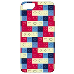 Hearts Apple Iphone 5 Classic Hardshell Case by Siebenhuehner