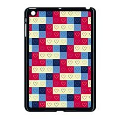 Hearts Apple Ipad Mini Case (black) by Siebenhuehner