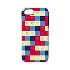 Hearts Apple Iphone 5 Classic Hardshell Case (pc+silicone) by Siebenhuehner