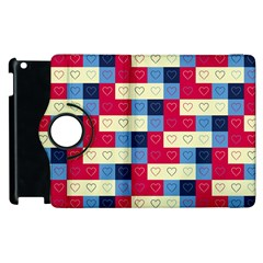 Hearts Apple Ipad 3/4 Flip 360 Case by Siebenhuehner