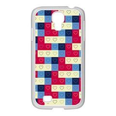 Hearts Samsung Galaxy S4 I9500/ I9505 Case (white) by Siebenhuehner