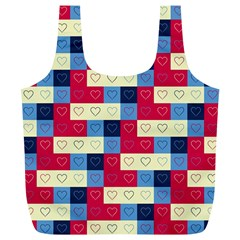 Hearts Reusable Bag (xl) by Siebenhuehner