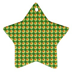 Retro Star Ornament (Two Sides) by Siebenhuehner