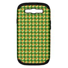 Retro Samsung Galaxy S Iii Hardshell Case (pc+silicone) by Siebenhuehner