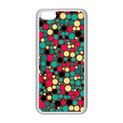 Retro Apple Iphone 5c Seamless Case (white) by Siebenhuehner