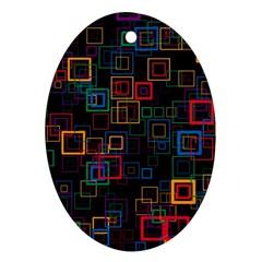 Retro Oval Ornament by Siebenhuehner