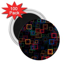 Retro 2 25  Button Magnet (100 Pack) by Siebenhuehner