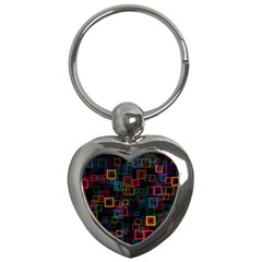 Retro Key Chain (heart) by Siebenhuehner
